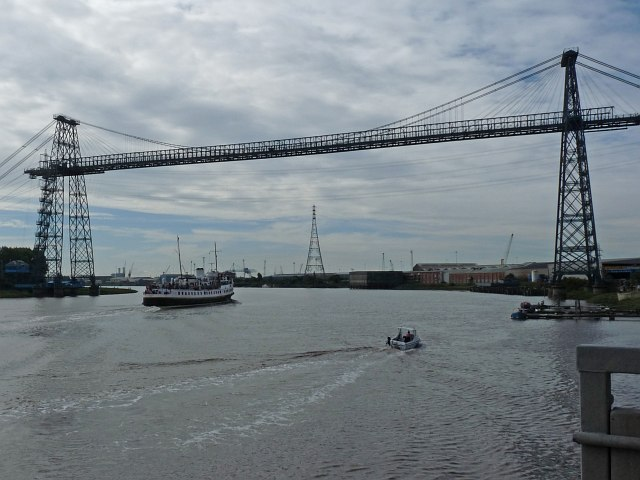 MV Balmoral on the River Usk [5]