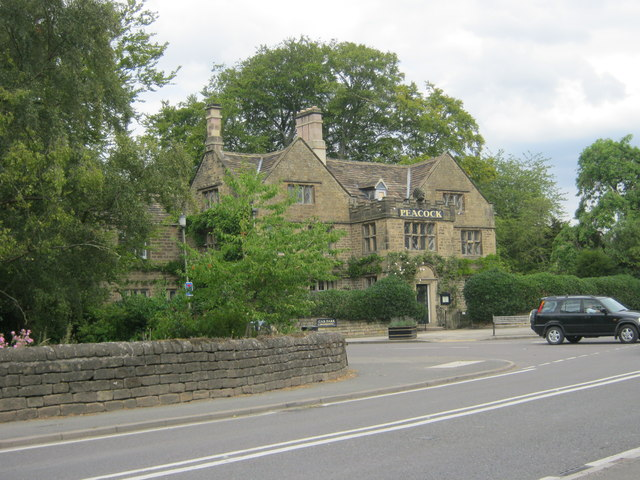 The Peacock Hotel in Rowsley