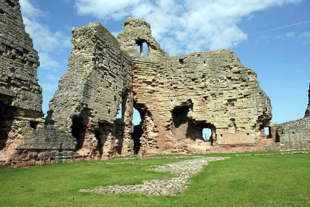 The inner ward of Rhuddlan Castle