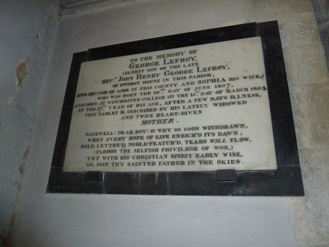 All Saints, Crondall: memorial (6)