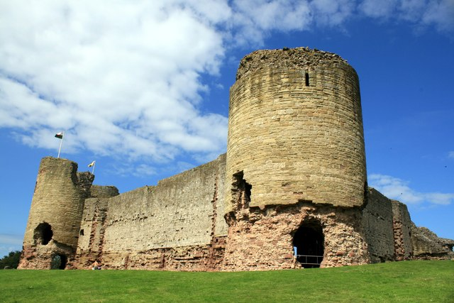 The south tower of Rhuddlan Castle
