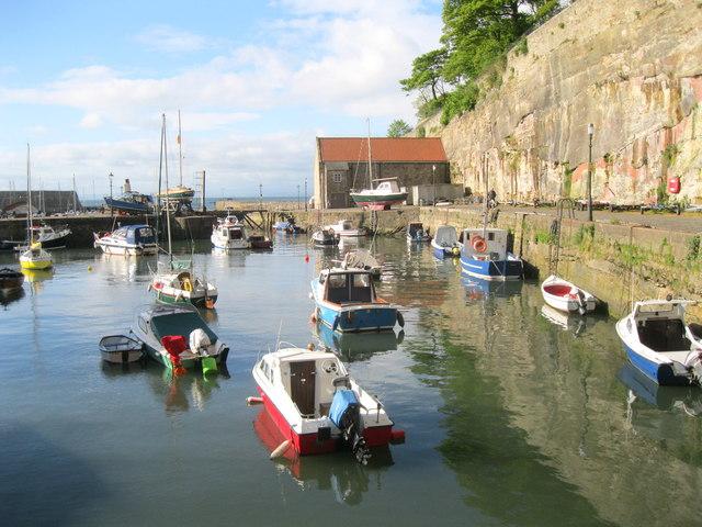 Dysart inner harbour