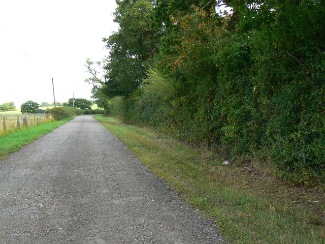 Byway to the B4696 east of Minety