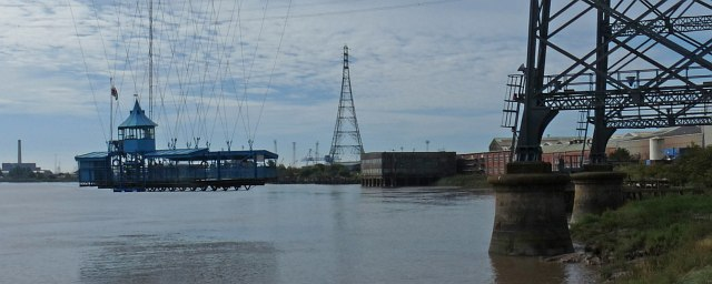 The gondola, Newport Transporter Bridge