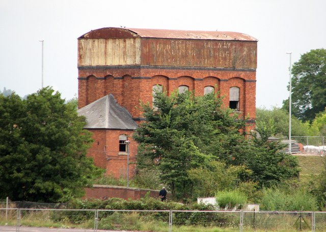 Taunton: railway water tank