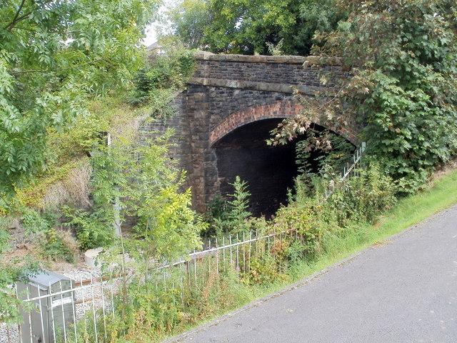 Western portal of Gaer Tunnel, Newport