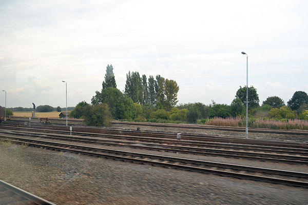 Sidings at South Milford junction