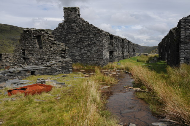 Barracks at Rhosydd Quarry