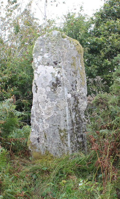 Western face of the Stane Alane, Achnabreck