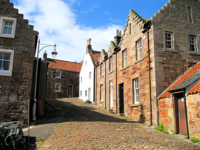 Street in Crail