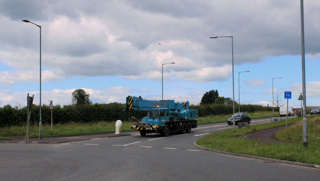 2011 : A37 at the Beardy Batch roundabout