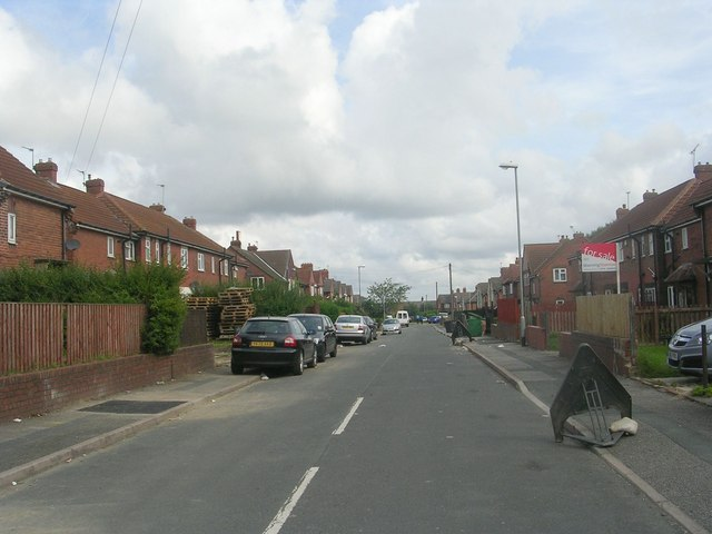 Fairfax Avenue - viewed from Margetson Road