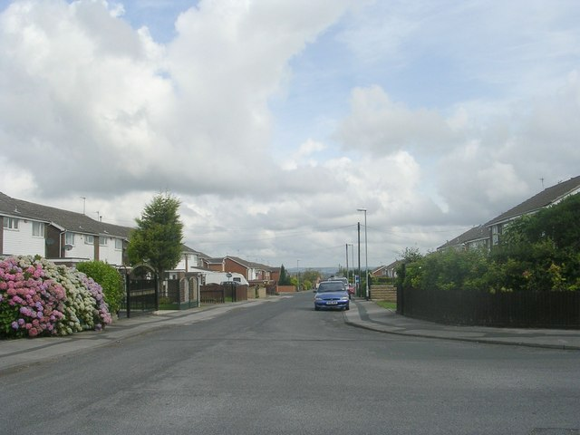 Walton Drive - viewed from Margetson Road
