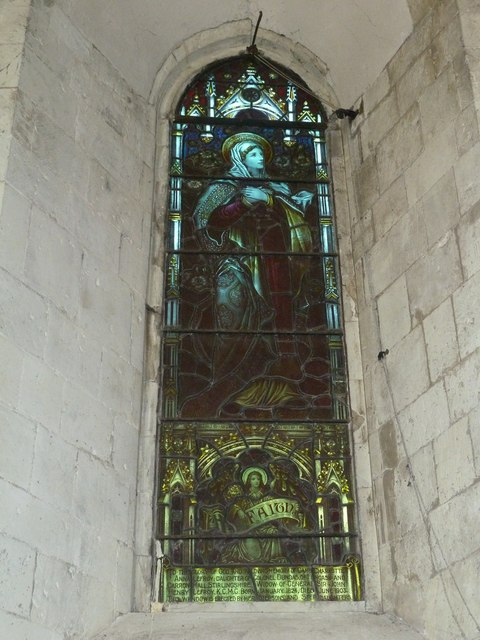 All Saints, Long Sutton: stained glass window (d)