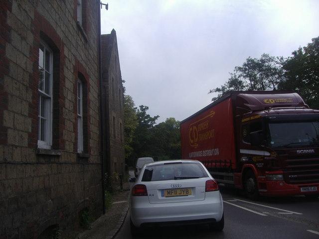 Crossing the bridge from Easebourne to Midhurst