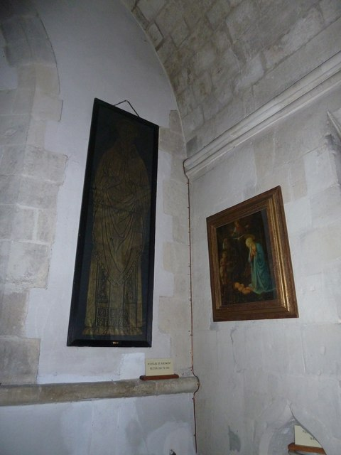 All Saints, Crondall: art work