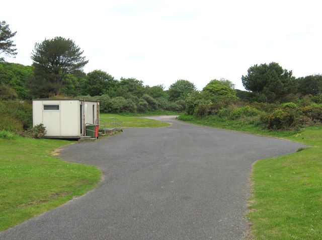 The public toilets at Ardwell