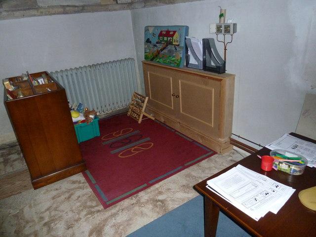 All Saints, Crondall: children's area