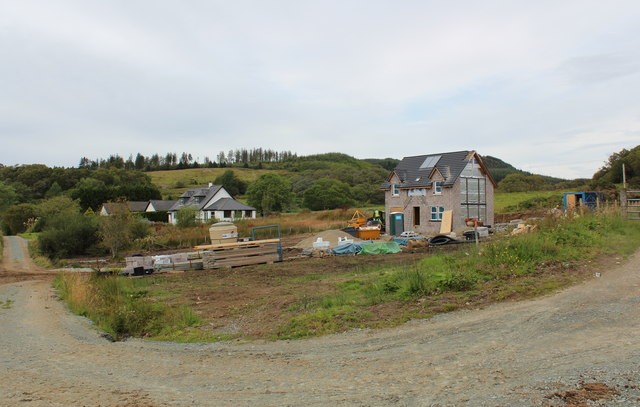 New house, Achnabreck
