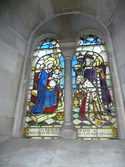 All Saints, Crondall: stained glass window (8)