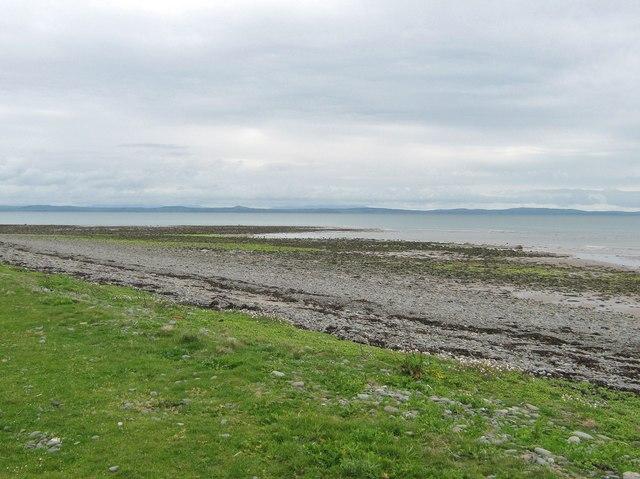Looking across Luce Bay