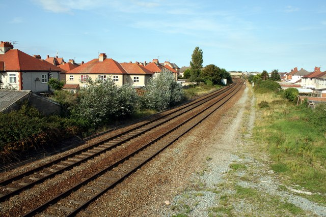 The Chester and Holyhead Railway at Rhyl