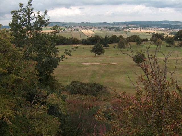 View across Hallamshire Golf Course from Lodge Moor