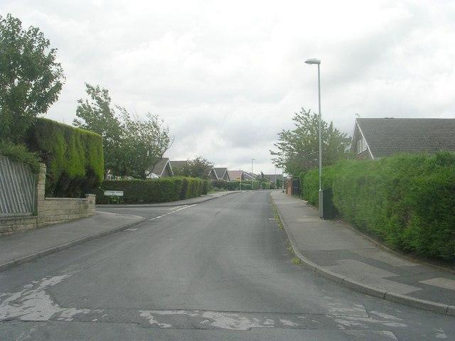 Moorside Walk - viewed from Moorside Drive