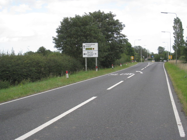 Entering Ulceby