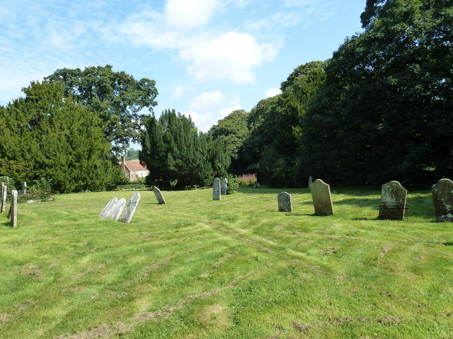 Churchyard of the Assumption of the Blessed Virgin Mary Upper Froyle-  (a)