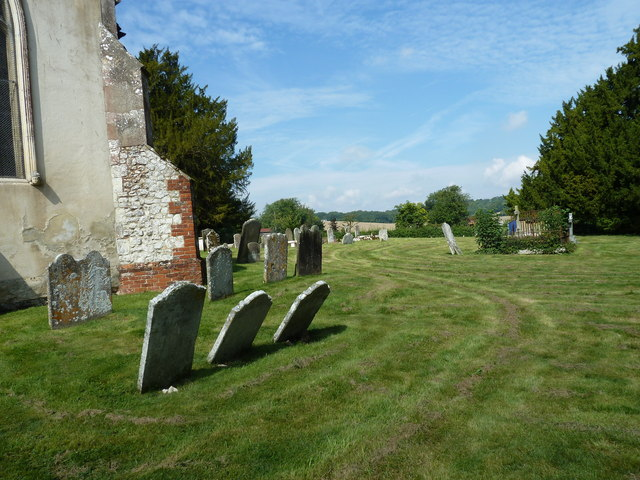 Churchyard of the Assumption of the Blessed Virgin Mary Upper Froyle-  (b)