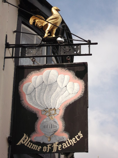Plume of Feathers Pub Sign, Plumstead