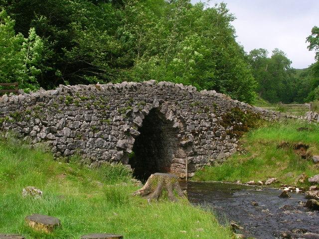 Bridge over Clapdale Beck