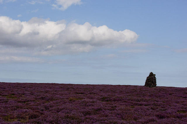 Cairn on Glaisdale Moor