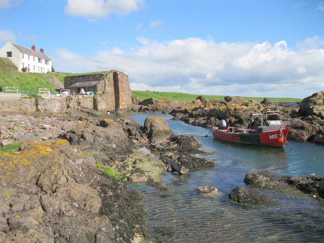 Usan Harbour