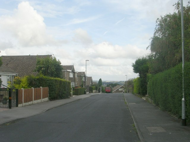 Moorside Drive - viewed from Moorside Parade