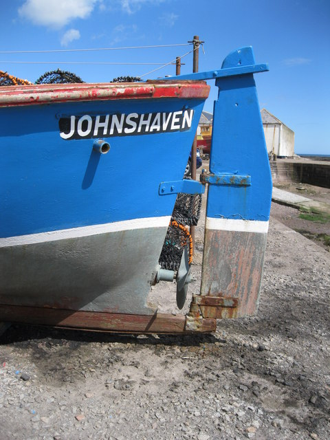 Stern of fishing boat