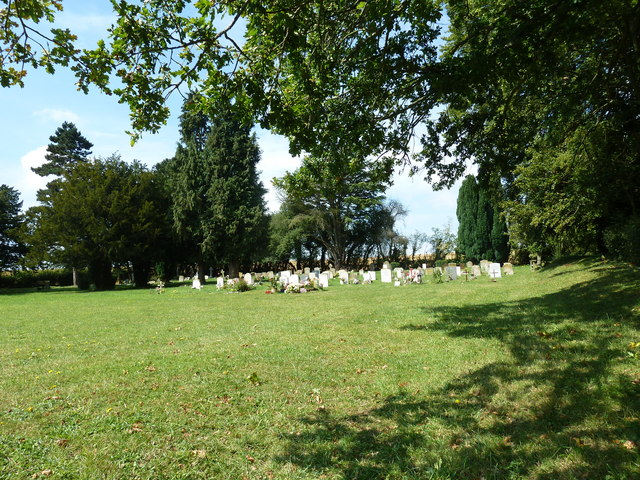 Upper Froyle Cemetery: August 2011