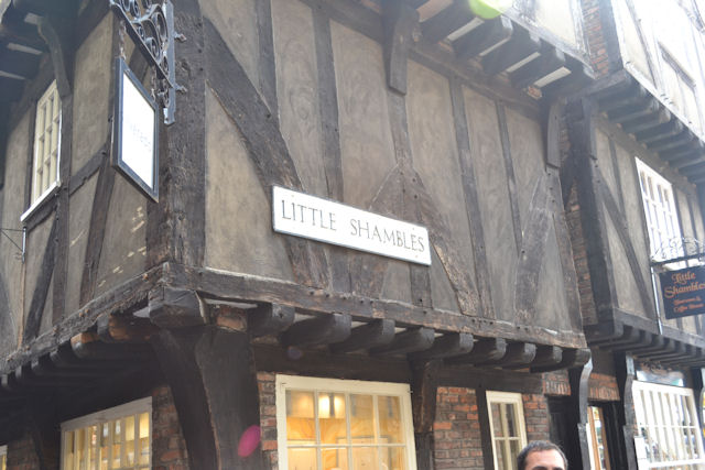 Entrance to Little Shambles from The Shambles