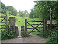 SK2063 : Stone stile and gate on The Limestone way by peter robinson