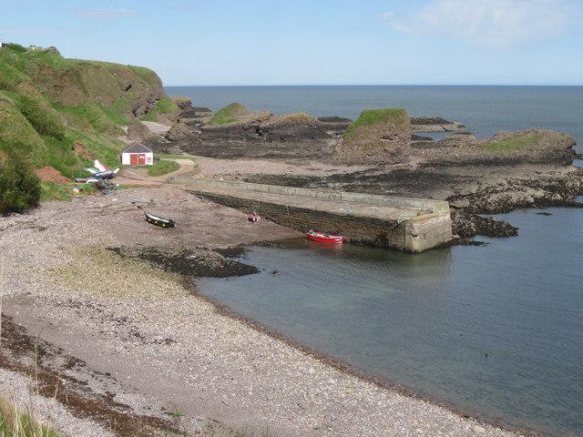 Catterline Harbour