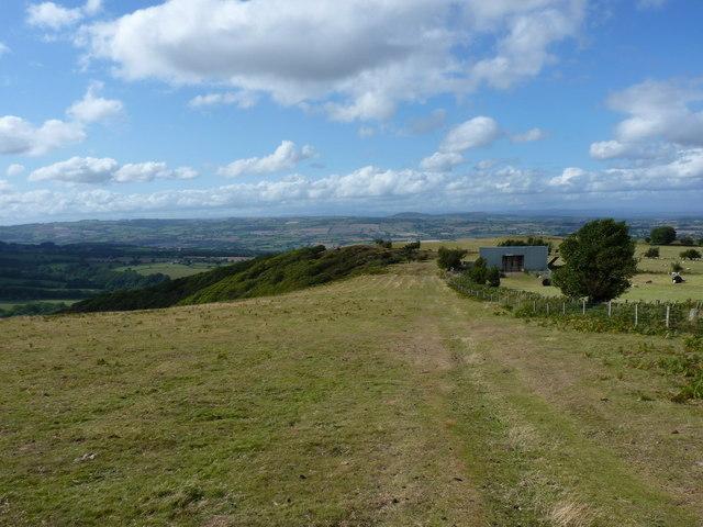 Footpath towards Snailbeach