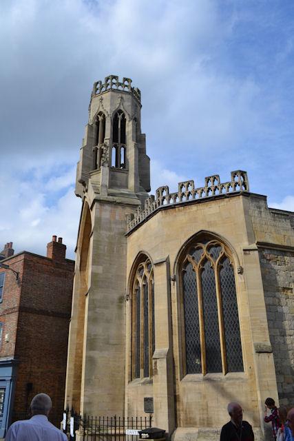 St Helen's church opposite St Helen's Square