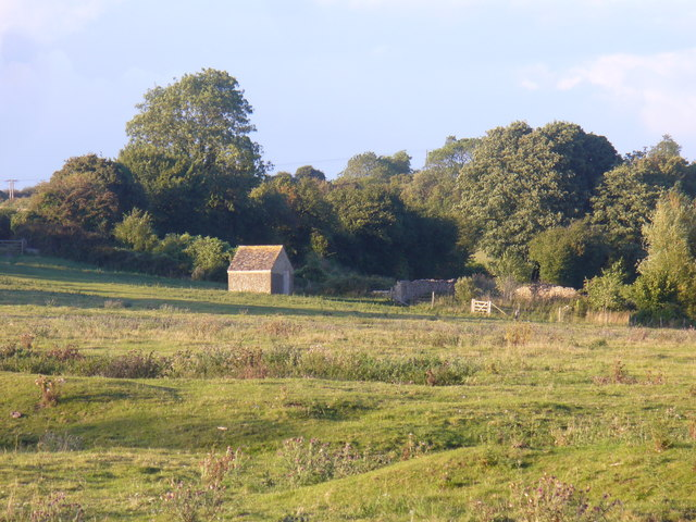 Field by Minster Lovell Hall