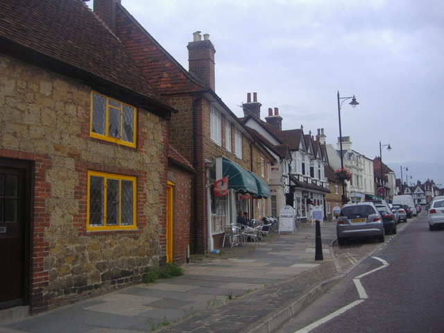 Shops on North Street, Midhurst