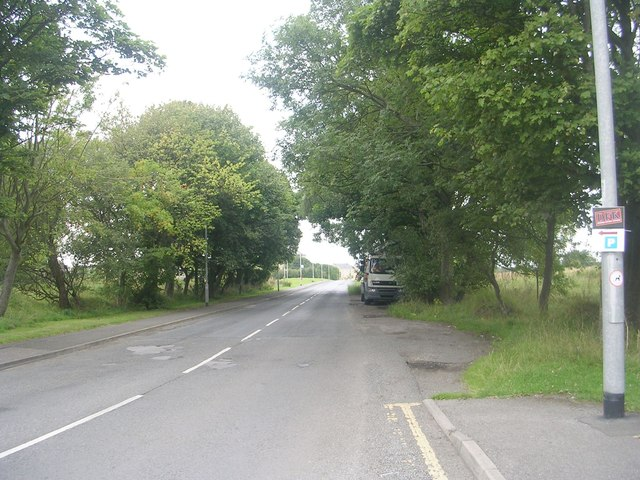 Station Road - viewed from Moorland Road