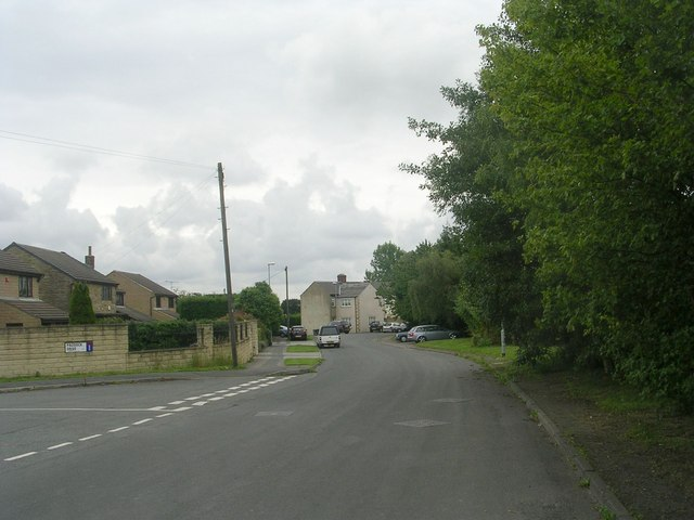 Field Head Lane - viewed from Paddock Drive