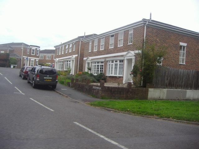 Houses on Heathfield Green, Midhurst