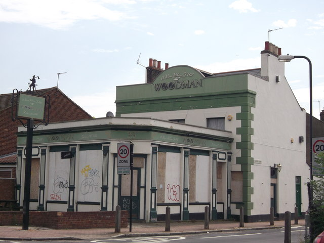 The Woodman, Public House, Plumstead