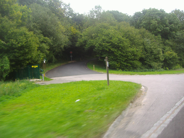 Entrance to Nightingale Wood, Cocking Hill
